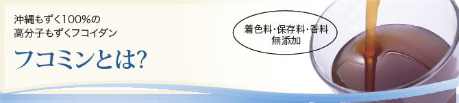 沖縄もずく100%の高分子もずくフコイダン原液 着色料・保存料・香料無添加 フコミンとは?